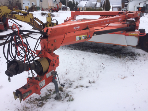 Faucheuse-conditionneuse Kuhn FC313TG